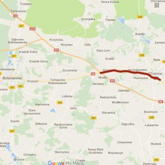 Rozbudowa DK 94 na odcinku Krzywa-Chojnów