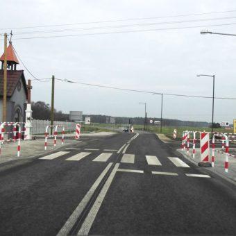 Rozbudowa drogi wojewódzkiej nr 901 w Bzinicy Starej