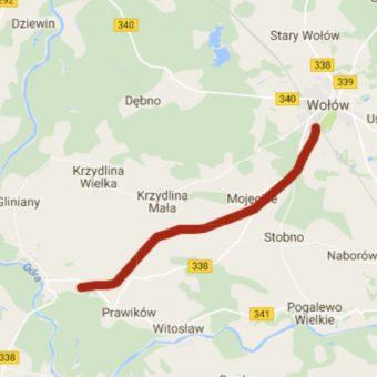 Budowa trasy rekreacyjno-turystycznej Wołów – Lubiąż