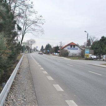Budowa obwodnicy-trasy północno-zachodniej w Bochni